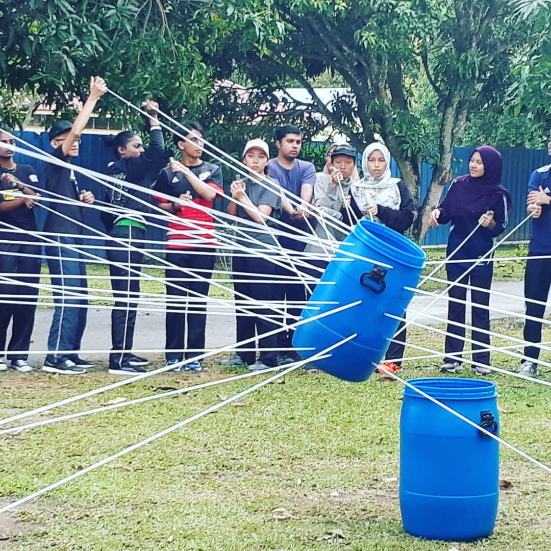 corporate team building needs strengths of each of the member